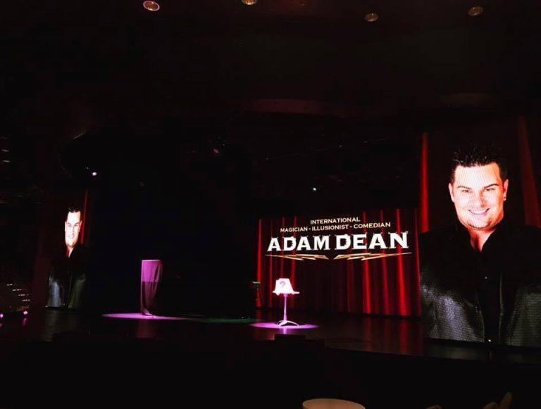 Adam Dean's theatre stage