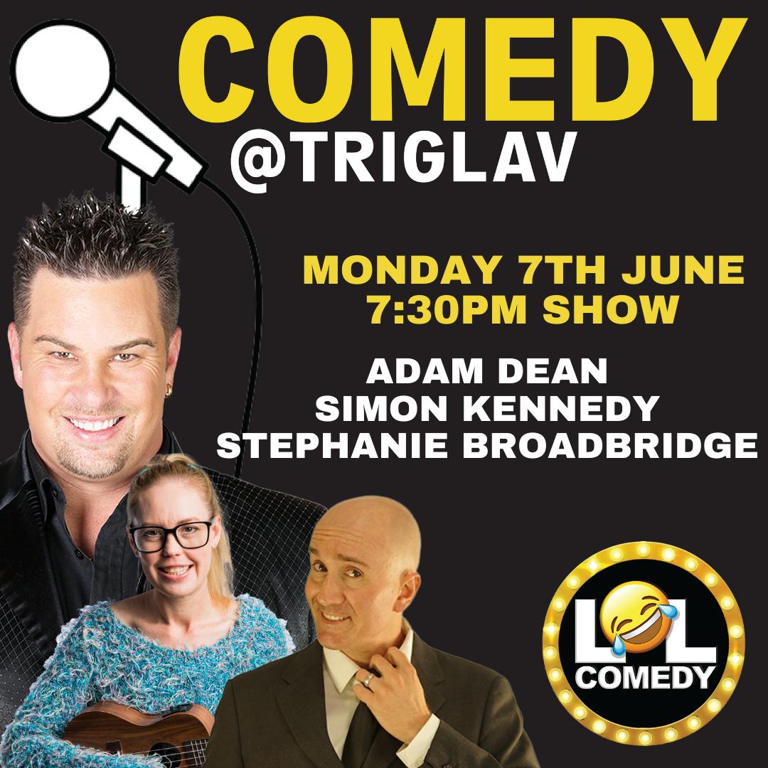 Triglav Comedy - Adam Dean